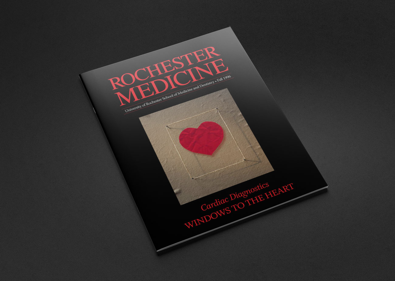 Portfolio Sample | University of Rochester's 'Rochester Medicine' publication