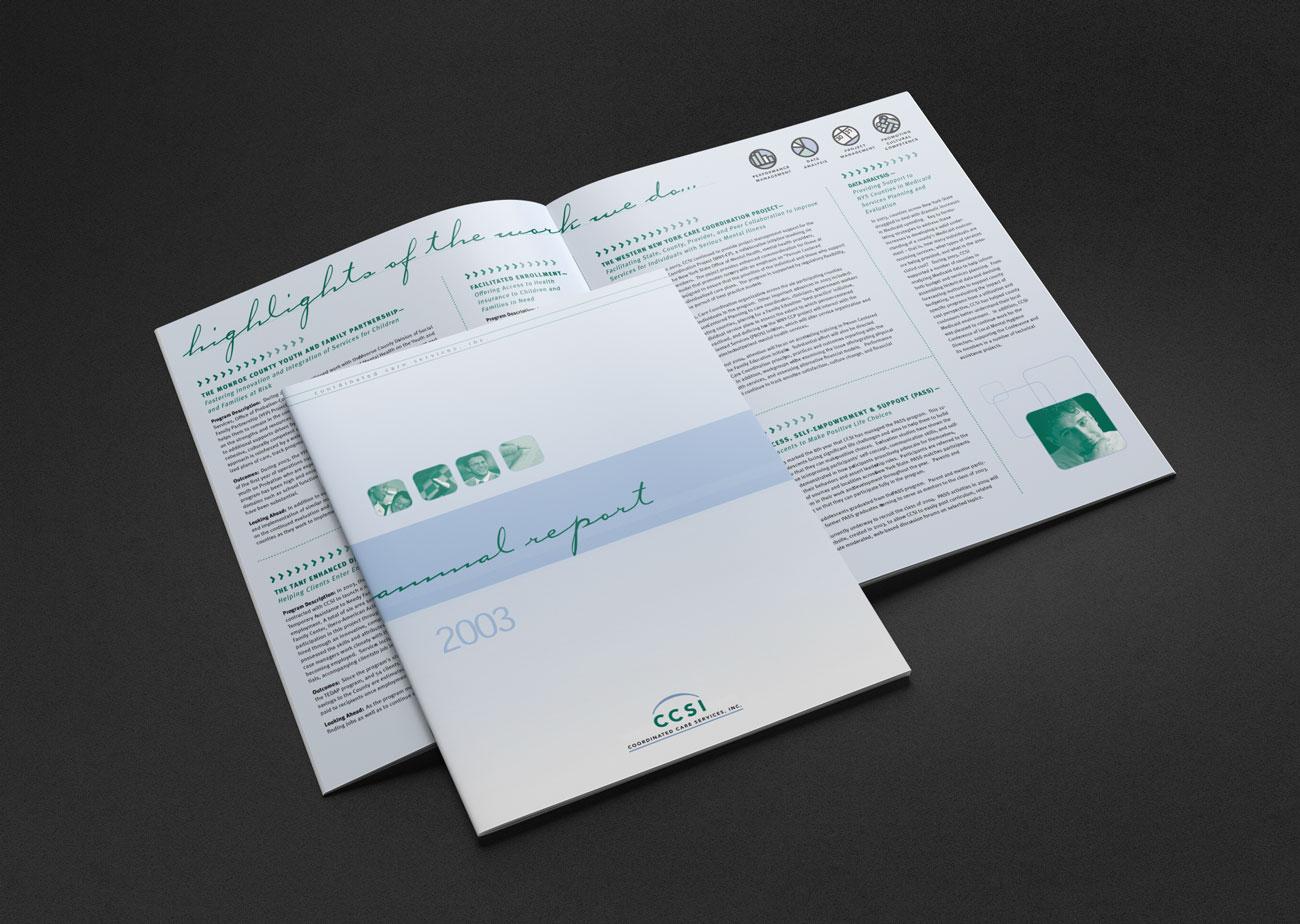 Portfolio Sample | Coordinated Care Services, Inc. Annual Report