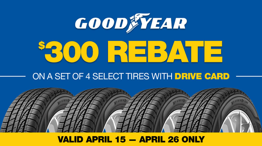 Image of a GoodYear Promotion for Monro Auto Service