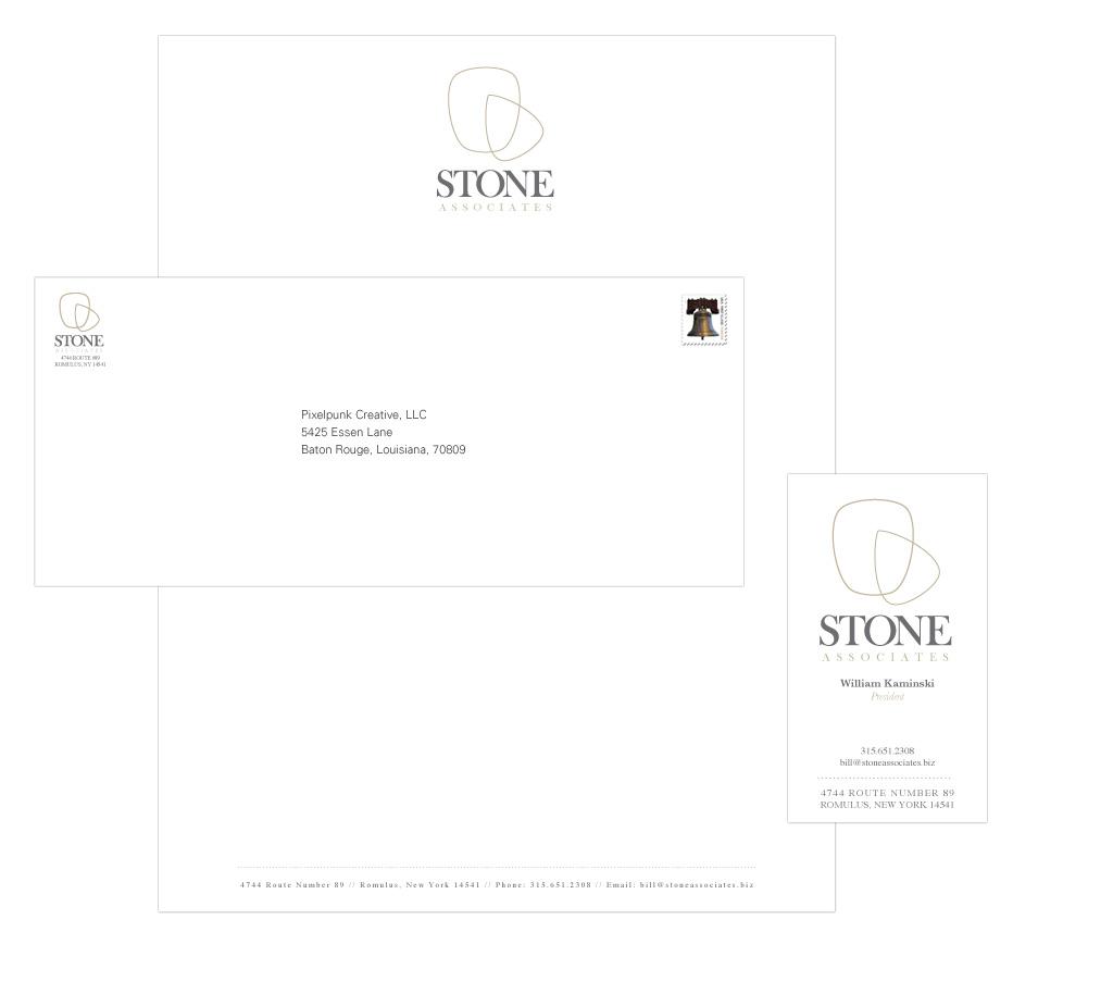 Portfolio Sample | Stone Associates Logo Design
