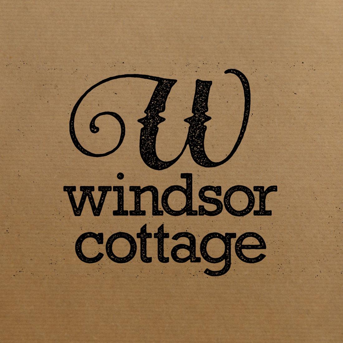 Photo of Windsor Cottage logo design