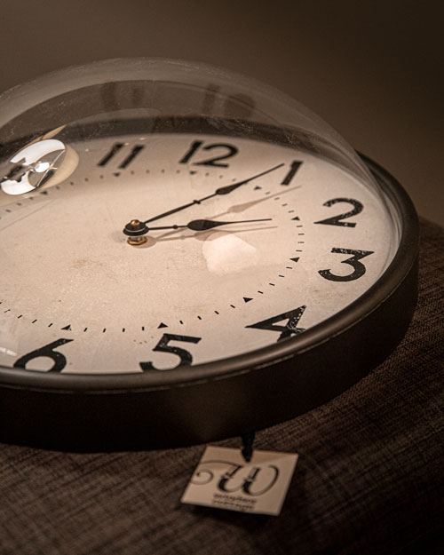 Photo of Social Media example for Windsor Cottage - Retro clock with sale tag