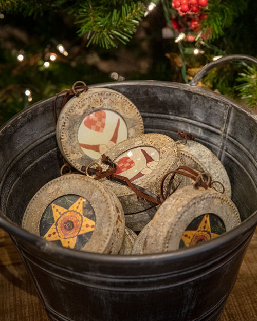 Photo of Social Media example for Windsor Cottage - Bucket of Ornaments