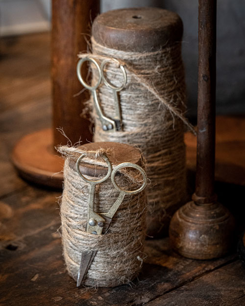 Photo of Social Media example for Windsor Cottage - Antique spool of twine with scissors