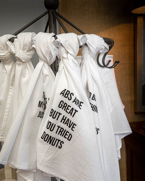 Photo of Social Media example for Windsor Cottage - Funny Towels on a coat rack